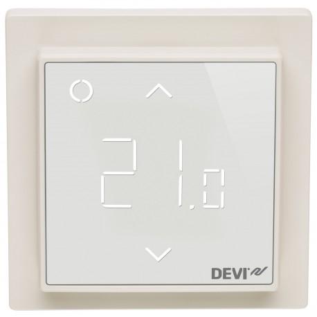 Szabályzó DEVIreg Smart fehér ELKO kerettel